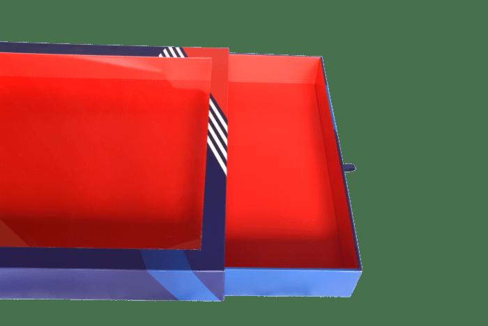 Boîte fenêtre et tiroir